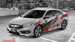 Tem Xe Honda Civic 050305 1750k