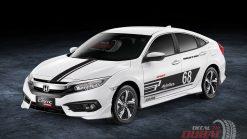 Tem Xe Honda Civic 072404 750k