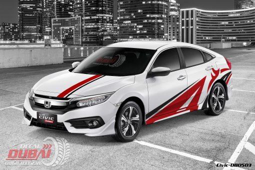 Tem Xe Honda Civic 080503 950k