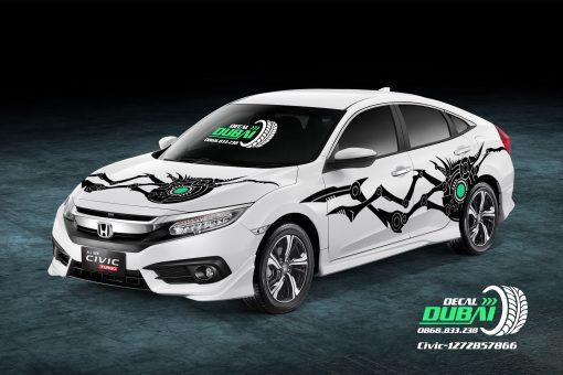 Tem Xe Honda Civic 1272857866 850k