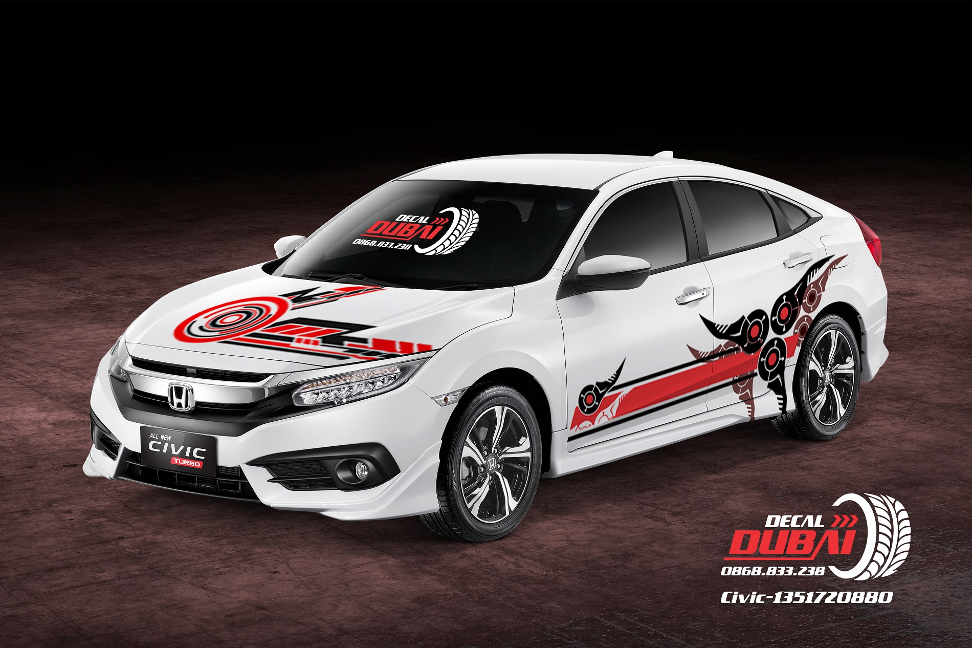 Tem Xe Honda Civic 1351720880 850k