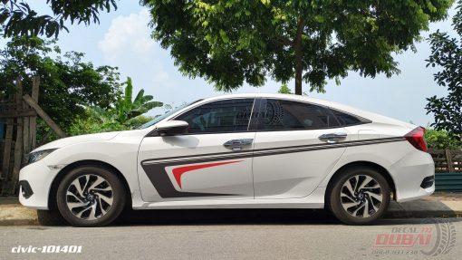Tem Xe Honda civic 101401 750k
