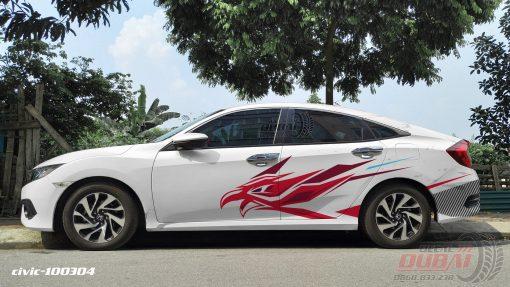Tem Xe Honda civic 2 100304 750k