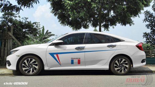 Tem Xe Honda civic 2 101001 350k