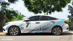 Tem Xe Honda Ô Tô civic 2 121001 1050k