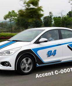 Tem xe accent 1- 950k