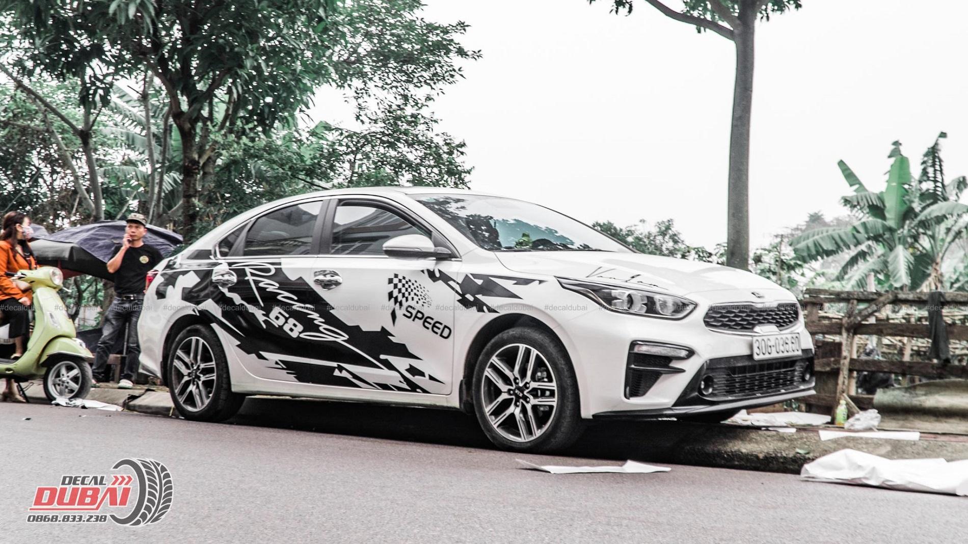 Mẫu tem xe ô tô đẹp quý I 2020 Decaldubai