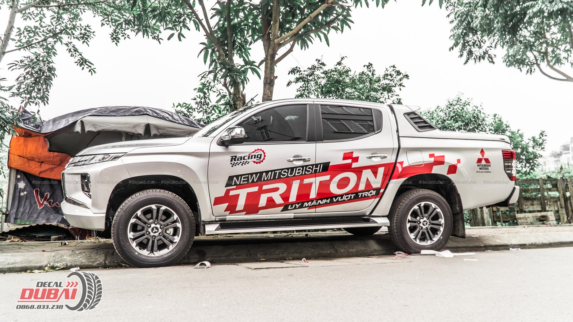 Tem xe Triton 0020 1150k