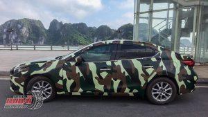Dán đổi màu xe Mazda3