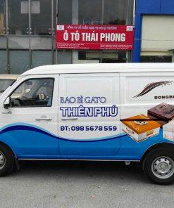 Dán Quảng Cáo Trên Xe Ô Tô Mẫu 0006