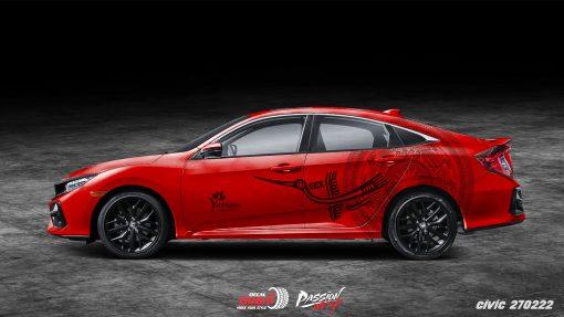 Tem Xe Honda Civic 270222 950k