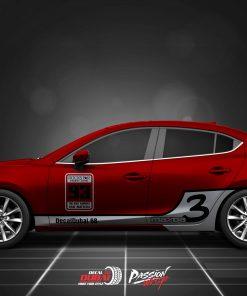 Tem Xe Mazda 3 0011 750k