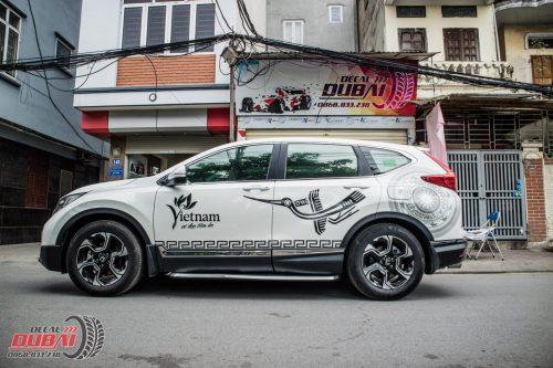 Tem Chim Hạc Trống Đồng CRV