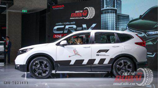 Tem xe CRV 0010 500k