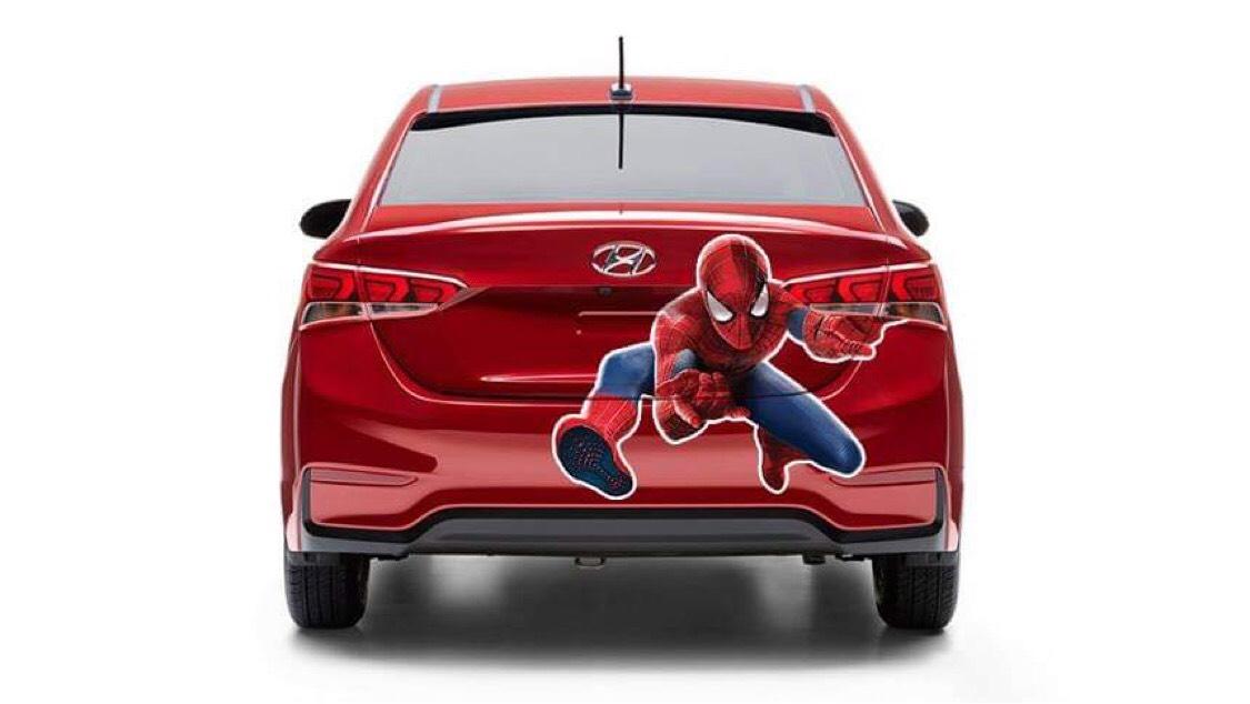 tem xe người nhện