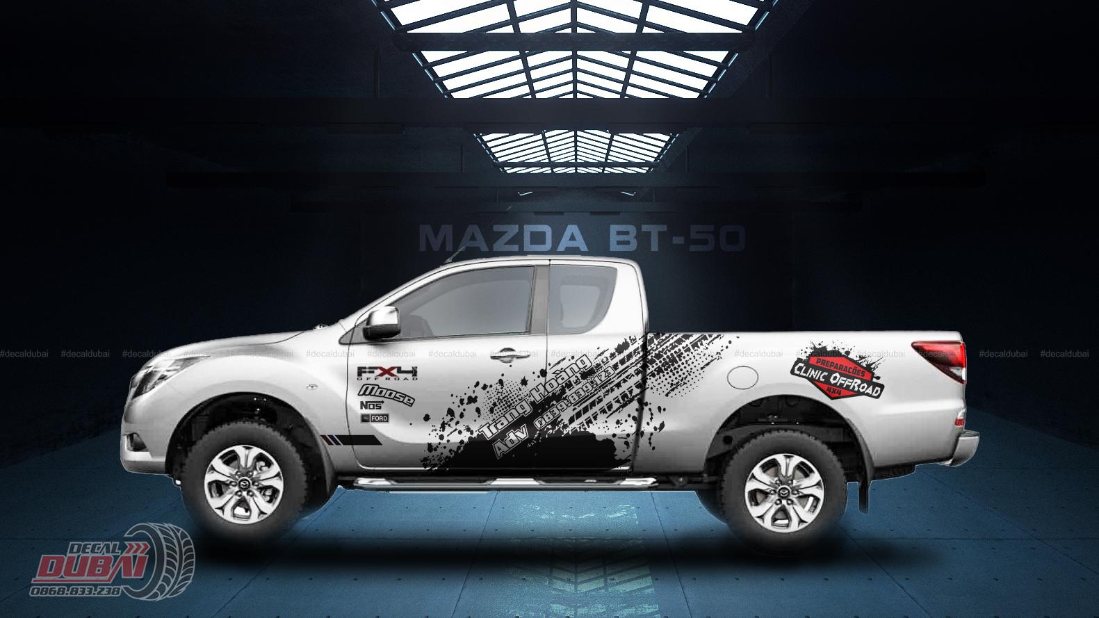 Tem Xe Mazda BT50 0005 1050k