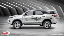 tem xe Fortuner trong dong 950k