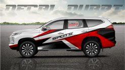 tem xe pajero sport 250221 2950k trang