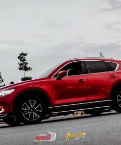 dán đổi màu xe mazda CX 5 Đỏ 3