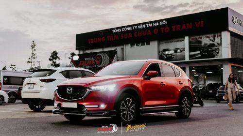 dán đổi màu xe mazda CX 5 Đỏ