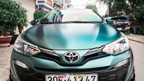 Dán Đổi Màu Xe Toyota Yaris