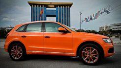 Dán Đổi Màu Xe Ô Tô Audi Q5 Cam