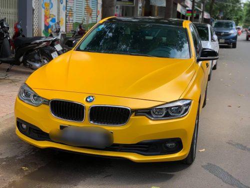 Đổi Màu Xe BMW 320I Vàng