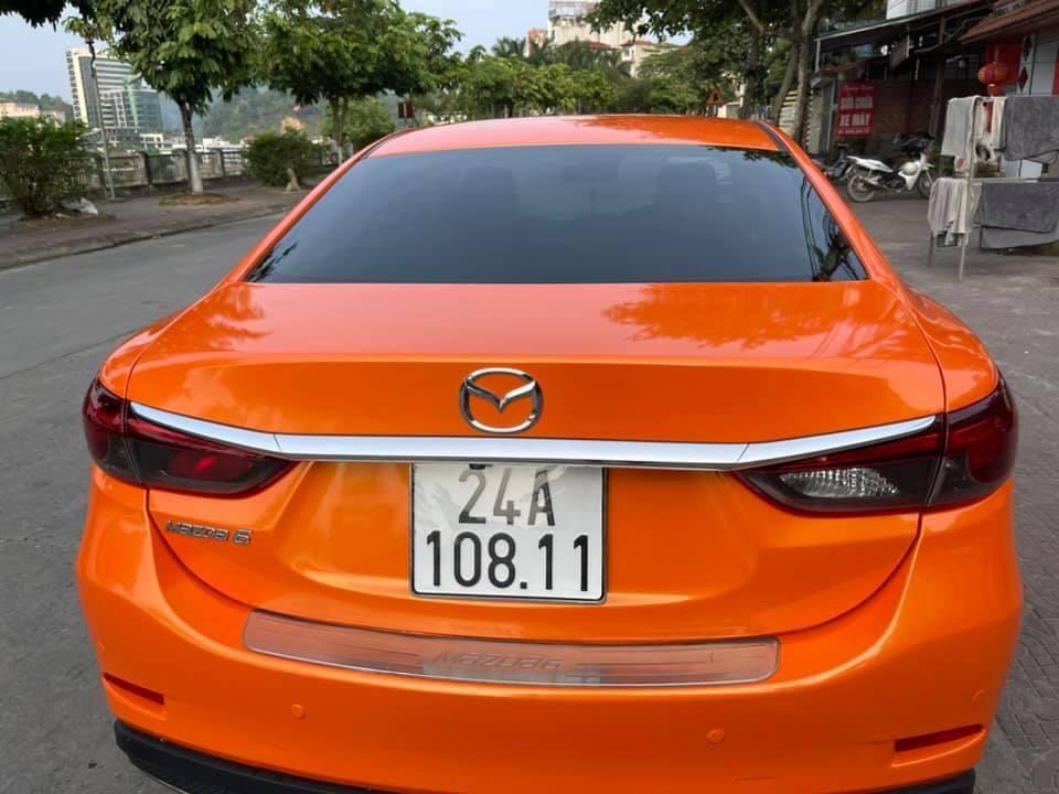Dán Đổi Màu Xe Mazda 6 Cam 4