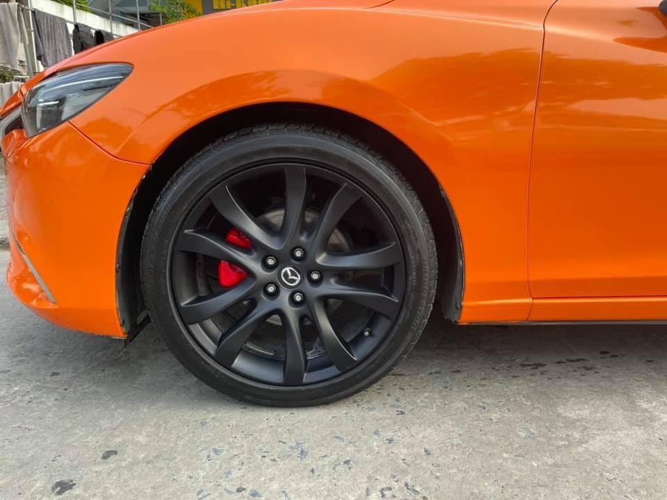 Dán Đổi Màu Xe Mazda 6 Cam