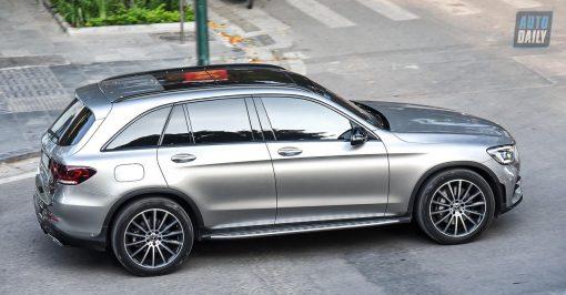 Dán Đổi Màu Xe Mercedes GL Bạc