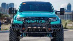Dán Đổi Màu Xe Ford Ranger Raptor Xanh Lục Bảo