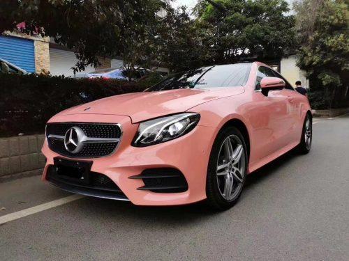 Đổi Màu Xe Mercedes Hồng