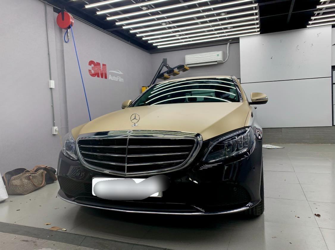 Dán Maybach Xe Mercedes C200