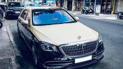 Dán Maybach Xe Mercedes S450