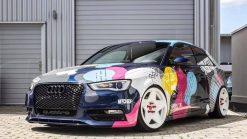 Dán Đổi Màu Xe Audi A3 Big Color