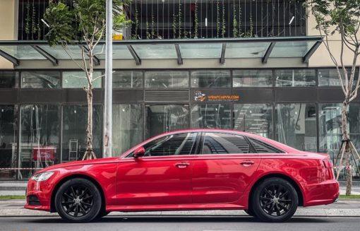 Dán Đổi Màu Xe Audi A6 Đỏ
