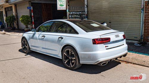 Dán Đổi Màu Xe Audi Bạc