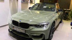 Dán Đổi Màu Xe BMW 320i Xanh Lá