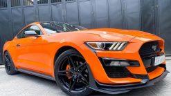 Dán Đổi Màu Xe Ford Mustang Cam Đậm