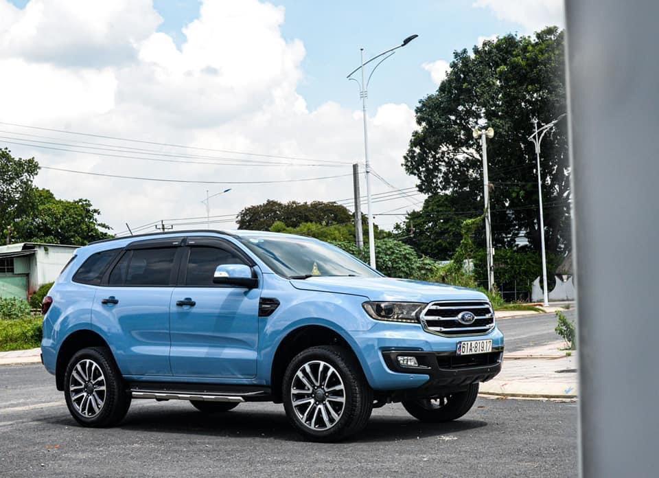 Dán Đổi Màu Xe Toyota Fortuner Blue Sky