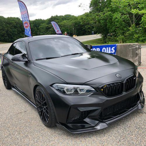 Dán Đổi Màu Xe BMW M2 Đen Bóng