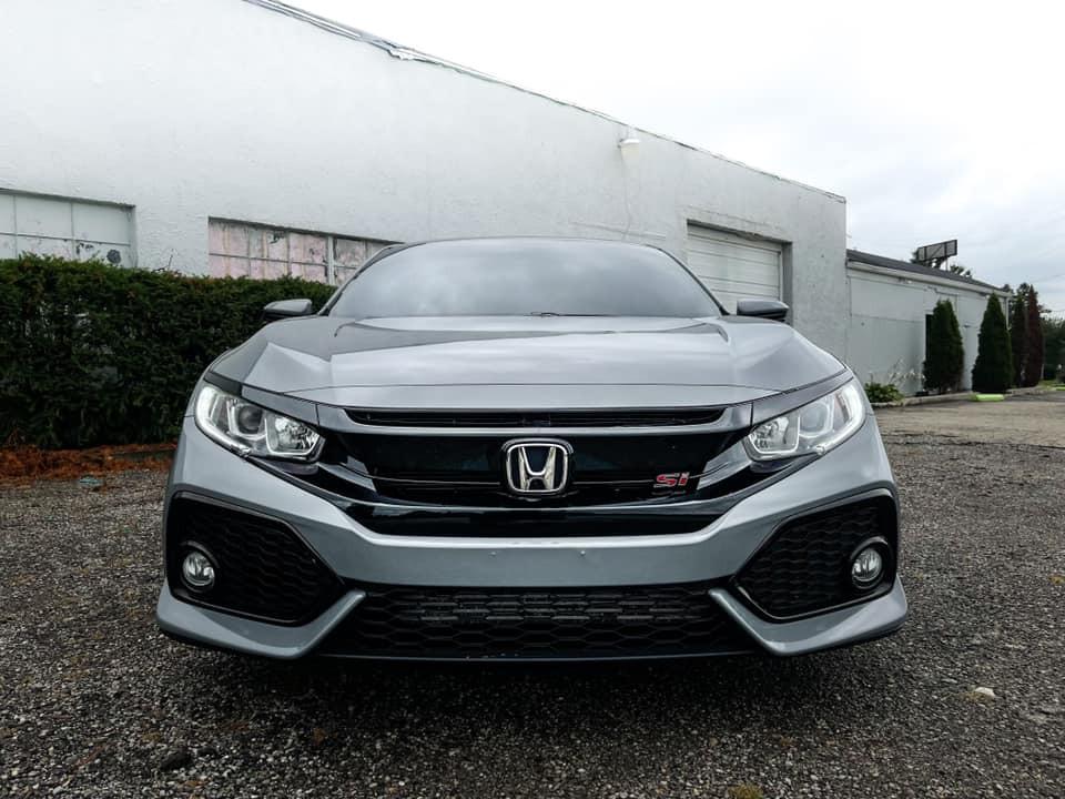 Dán Đổi Màu Xe Honda Civic Xám Titan