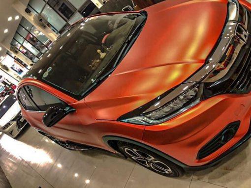 Dán Đổi Màu Xe Honda HR-V RS Cam Lỳ
