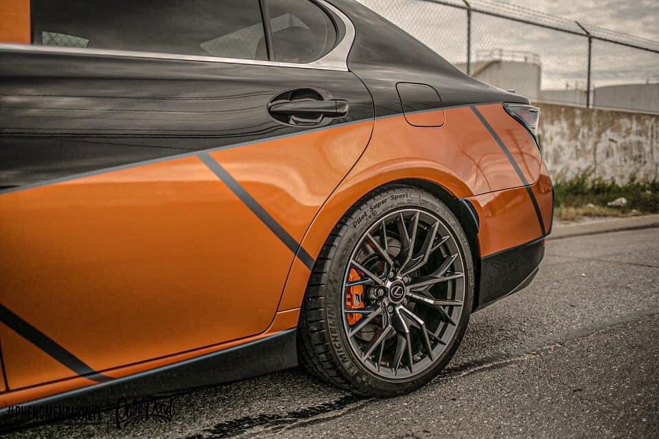 Dán Đổi Màu Xe Lexus GS F Style Độc Nhất