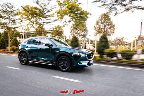 Dán Đổi Màu Xe Mazda CX5 British Racing Green